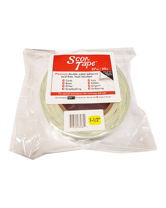 "Scor-Tape 1 1/2"" Wide - Click Image to Close"