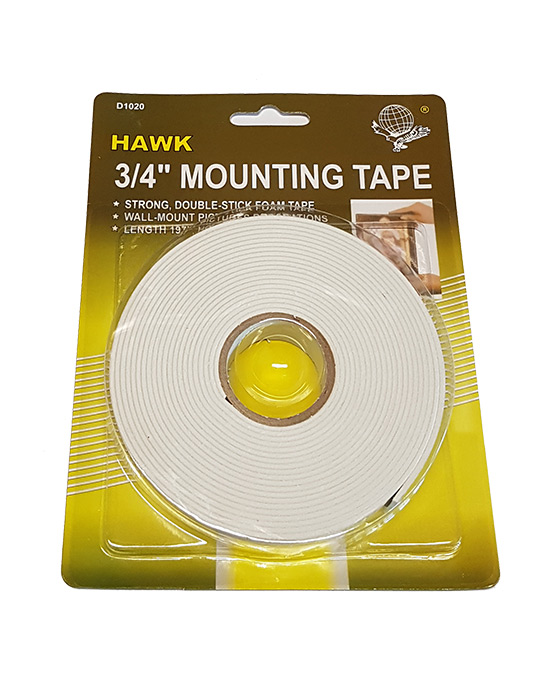 "Foam Tape 3/4"" Wide"