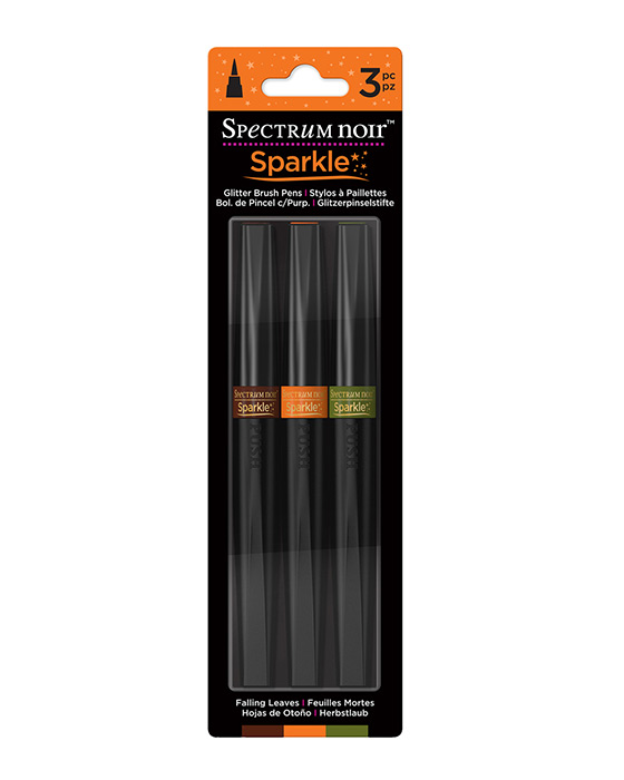 Spectrum Noir Sparkle Pens 3pc Set - FALLING LEAVES