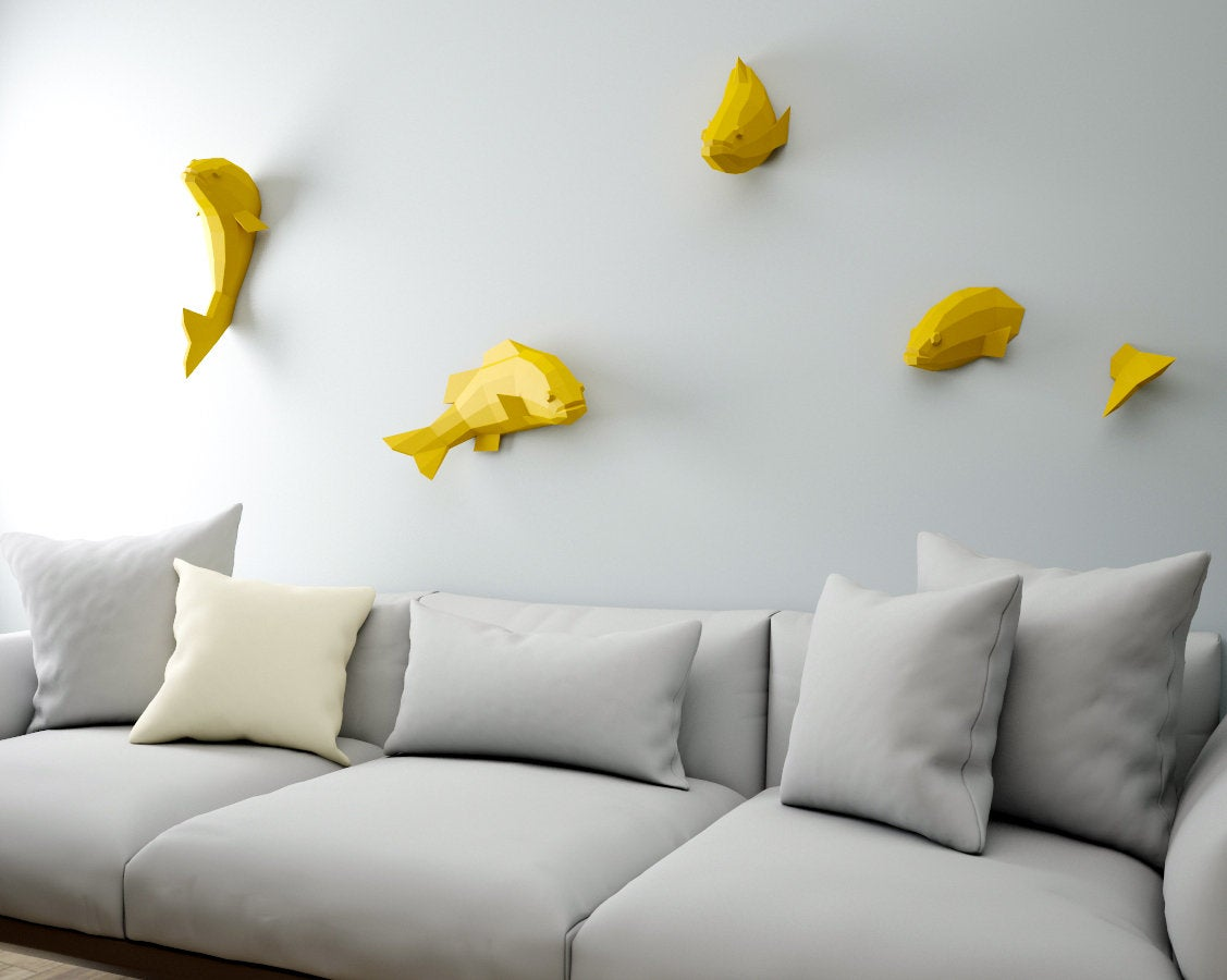 Fishes on Wall 2