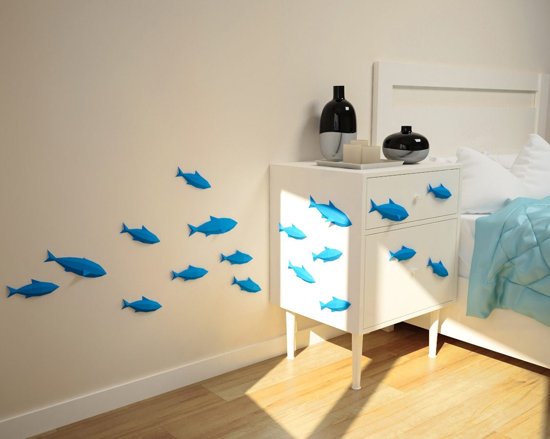 Fishes on Wall