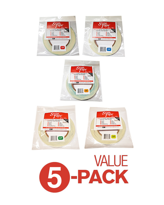 Scor-Tape Value Pack