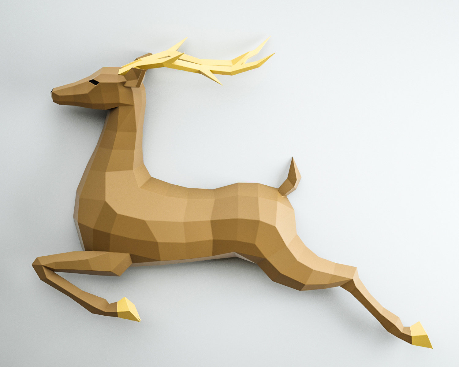 Deer on a Wall