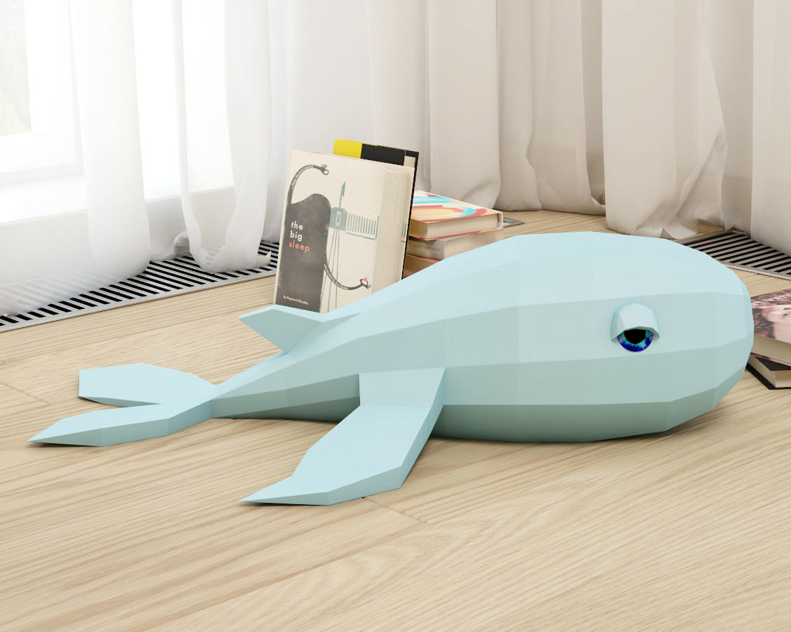Whale on a Desk